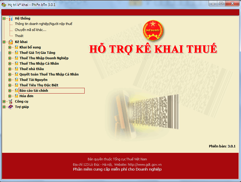 HTKK 3.2.5